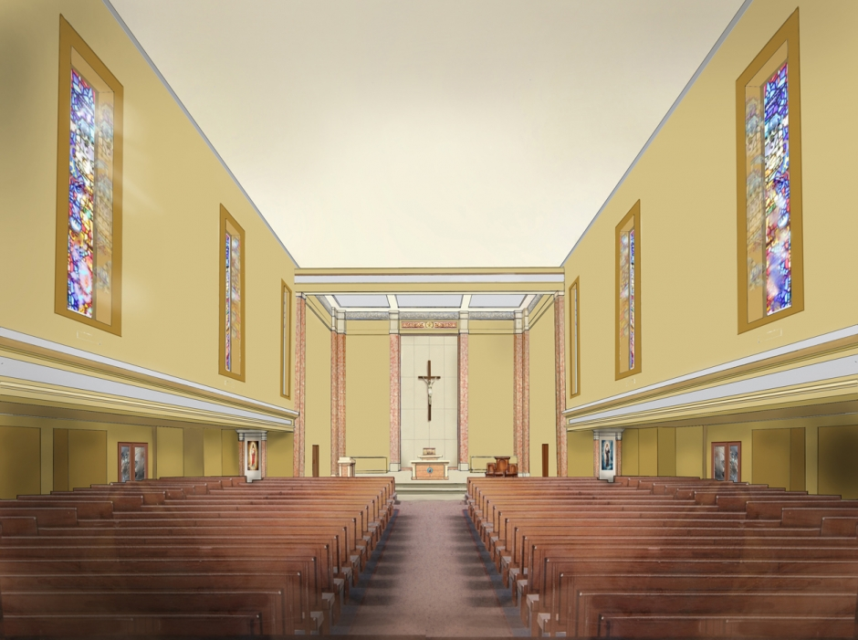 Interior design plamen petrov for Church interior designs pictures