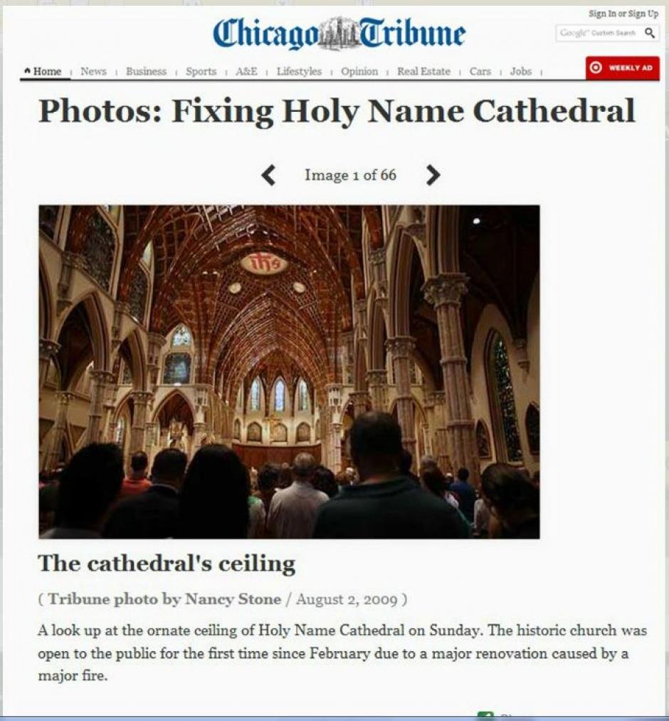 Chicago Tribune 2009