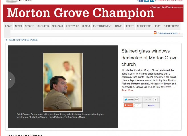 Morton Grove Champion a Chicago Sun Times publication