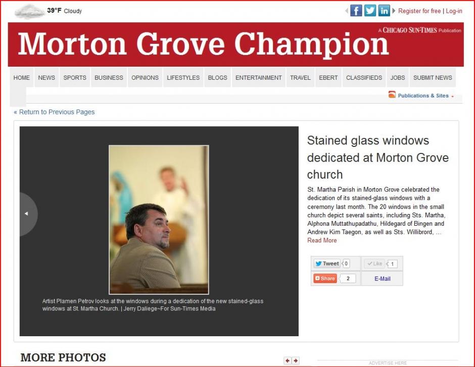 Morton Grove Champion a Chicago Sun Times publication