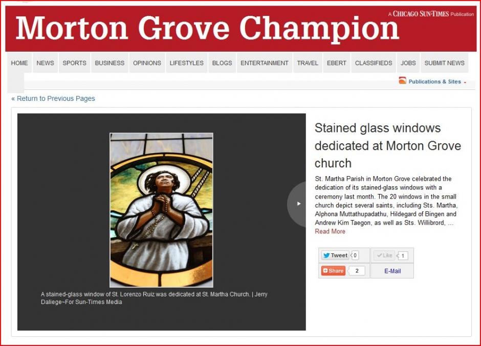 Morton Grove Champion