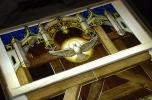 St. Mary Catholic Church of Huntley, IL.The Holy Family window.
