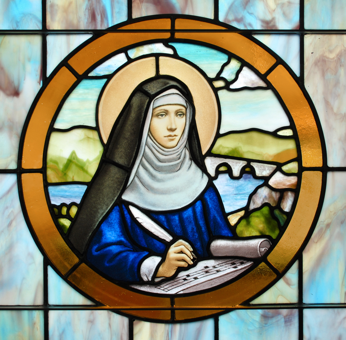 the life of hildegard von bingen Description ordo virtutum (order of the virtues) is an allegorical morality play composed about 1151 by hildegard von bingen the story tells about soul who, after.